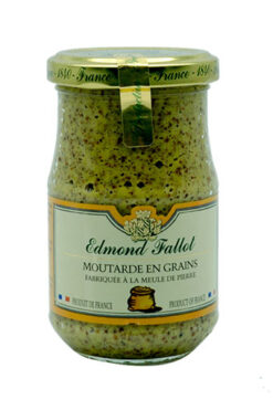 Edmond Fallot Dijon Senf grobkörnig