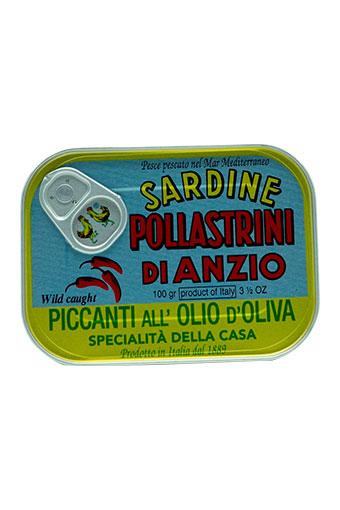 sardinen in olivenöl pikant