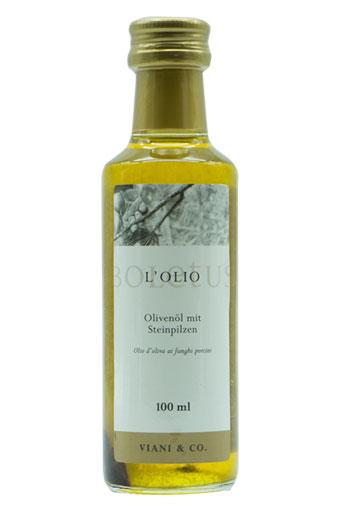 Olivenöl mit Steinpilzen