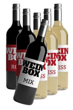 Gemischte Weinbox